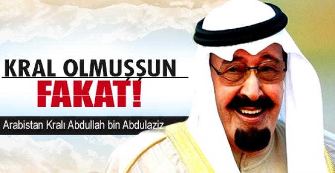 Kral Abdullah'ın açıklamaları!