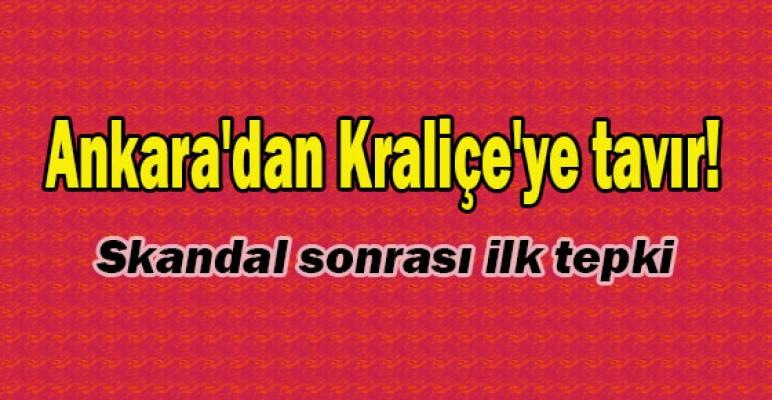Kraliçe'ye Ankara'dan tavır!