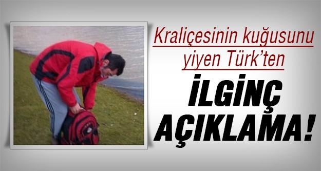 Kuğuyu kesip yiyen Türk konuştu!