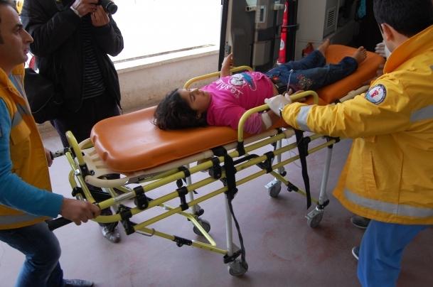 Kurşun 7 yaşındaki çocuk yaraladı
