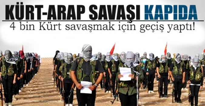 Kürt-arap savaşı'na ramak kaldı...