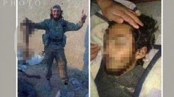 Kürt kızın kafasını kesen terörist öldürüldü!