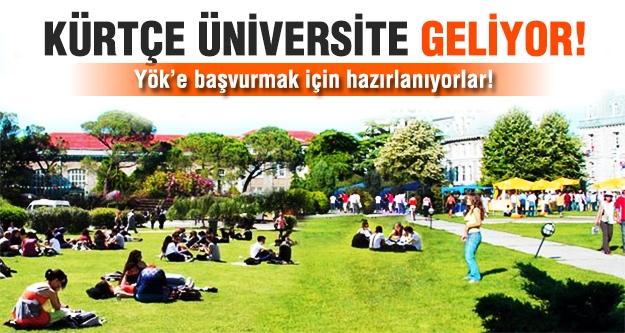 Kürtçe Üniversite için YÖK'e başvuracaklar