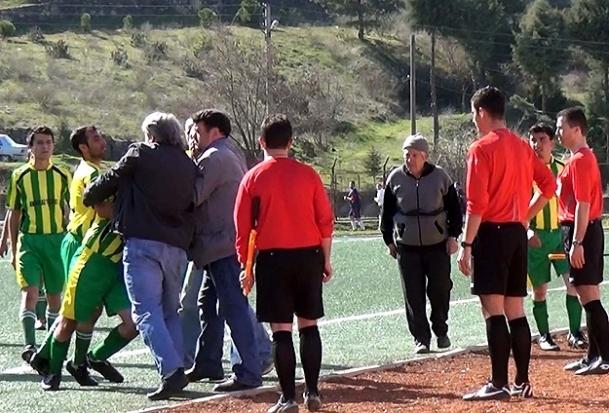 Kütahya'da olaylı maç