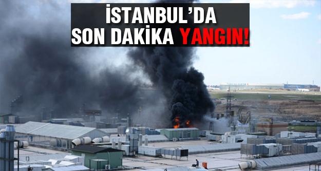 Kuyumcukent'te büyük yangın!