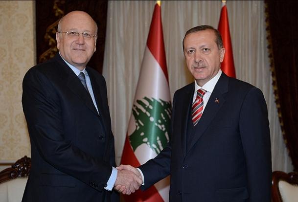 Lübnan Başbakanı Mikati Ankara'da