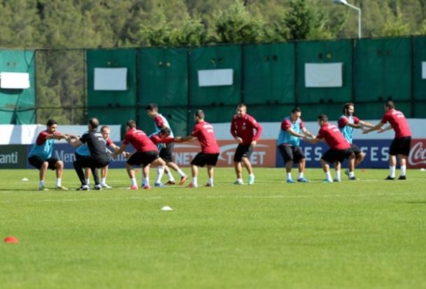Macaristan maçı hazırlıkları