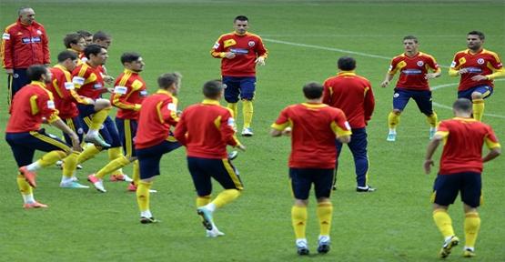 Macaristan maçıhazırlıkları başladı