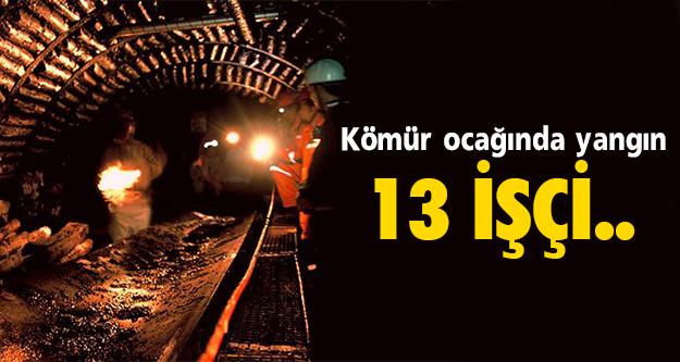 Madende yangın çıktı!