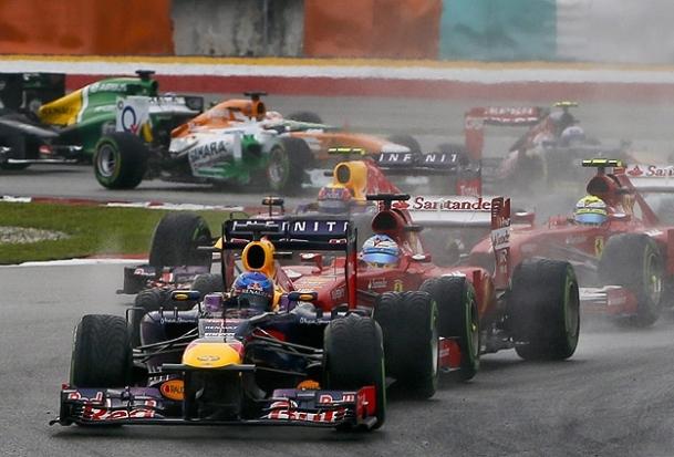 Malezya Grand Prix'i Vettel'in