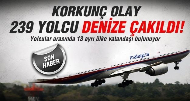 Malezya'da uçak düştü