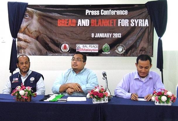 Malezya'dan Suriye'ye Can Simidi Projesi