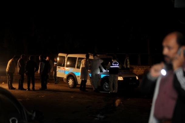 Mardin'de polis aracına silahlı saldırı
