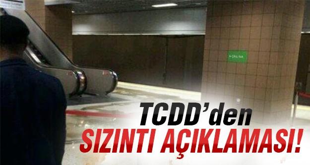 Marmaray'daki sızıntının kaynağı ne?