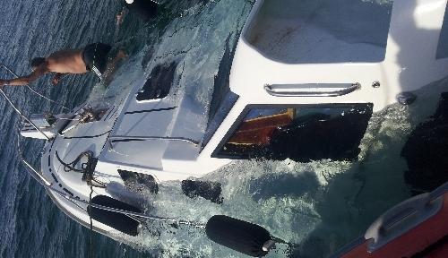 Marmaris ve Gökova'da iki tekne battı
