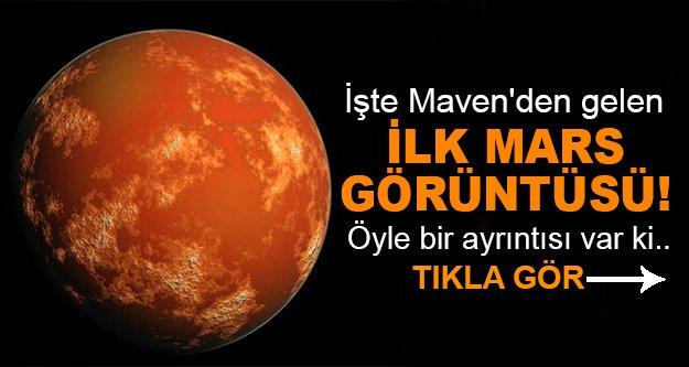 Mars'ı ilk defa böyle gördük!