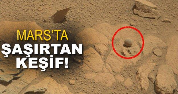 Mars'ta heyecan verici keşif!
