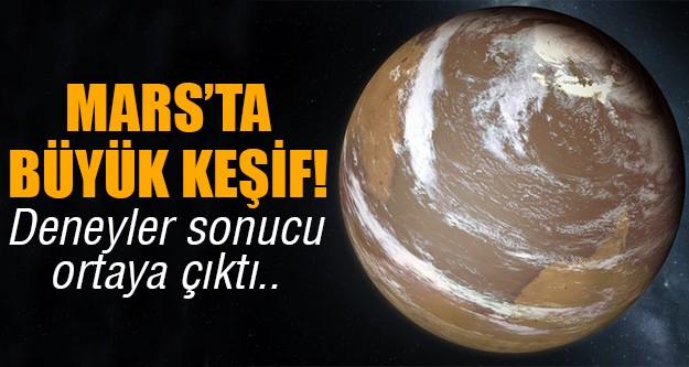 Mars'ta yeni buluş!