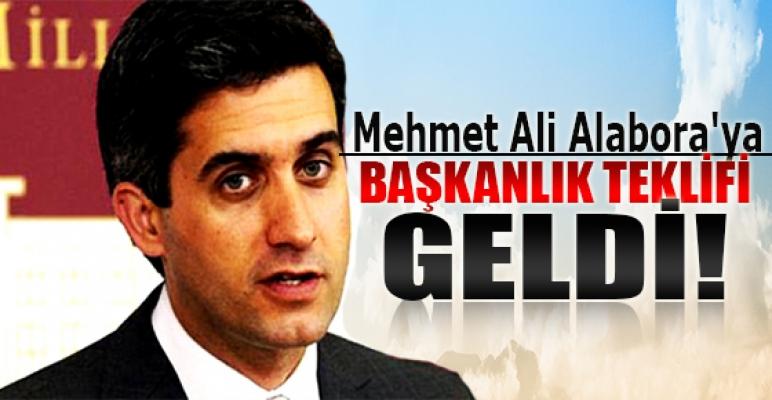 Mehmet Ali Alabora'ya başkanlık teklifi