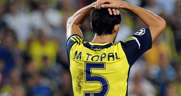 Mehmet Topal acılar içinde!