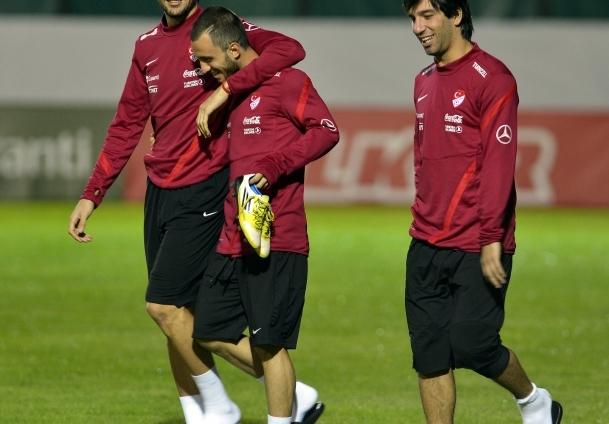 Mehmet Topal antrenmana katıldı