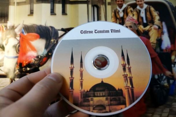 Mercan Dede'den Edirne'nin tanıtımına katkı
