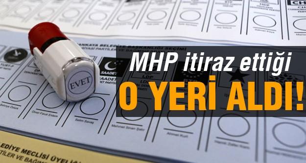 MHP itiraz etti, oylar yeniden sayıldı ve..
