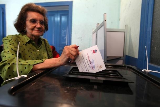 Mısır referandum için sandık başında