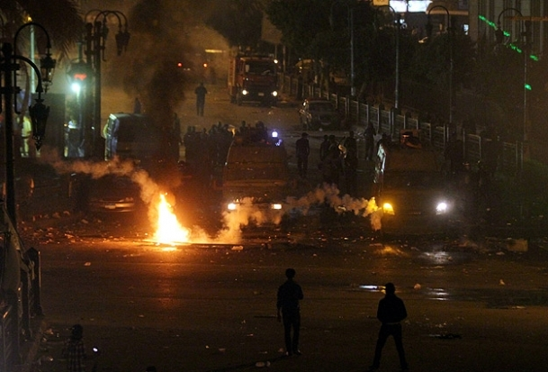 Mısır'da olaylı gösteri
