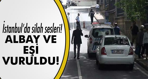 Motosikletli saldırgan albay ve eşini vurdu!