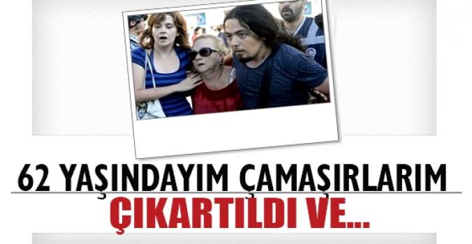 Mücella Yapıcı'dan mahkemede emniyet şikayeti