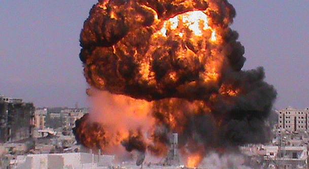 Mühimmat deposunda patlama: 20 ölü