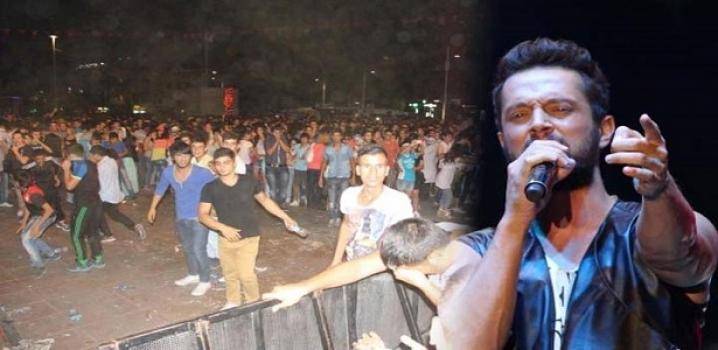 Murat Boz Konserinde Gazlı Müdahele..