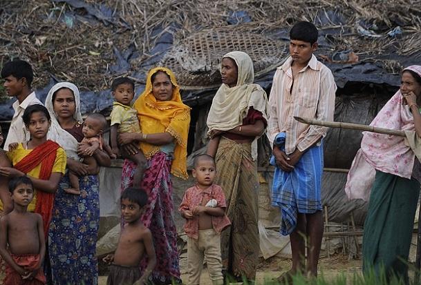 Müslümanların kamplarında durum içler acısı