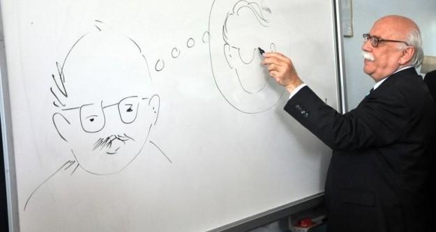 Nabi Avcı karikatür çizerse..