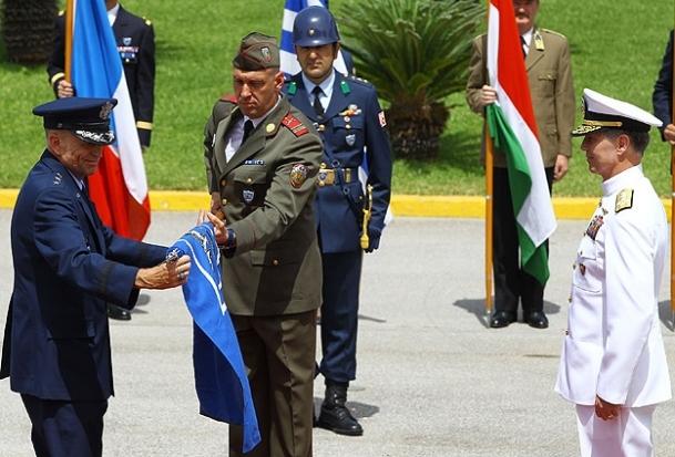 NATO Hava Komutanlığı İzmir'e veda etti