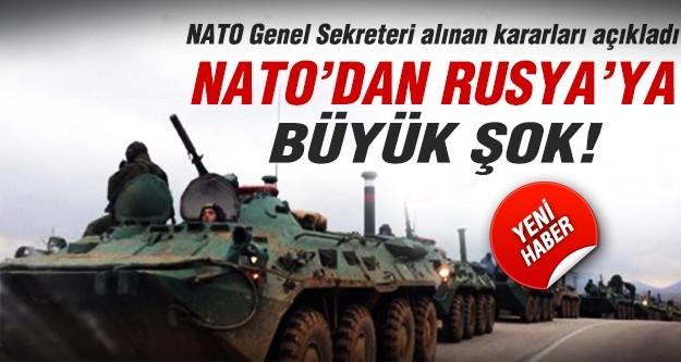 NATO'da Rusya için şok karar!