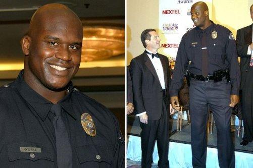 NBA'den emekli basketbol yıldız  polis oldu