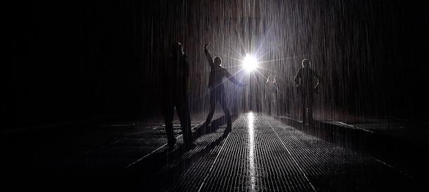 New York'ta farklı bir deneyim: Islatmayan yağmur