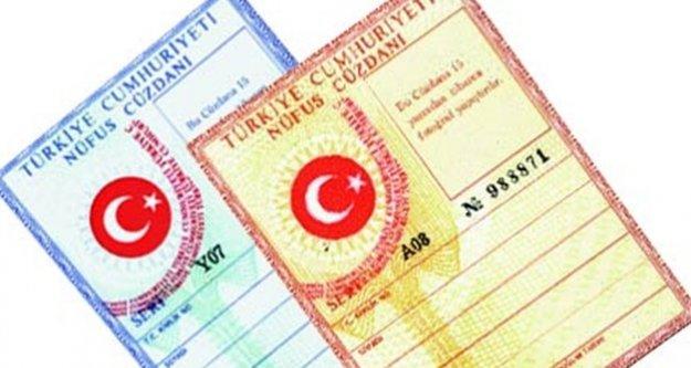 Nüfus cüzdanı ve Pasaportlara  zam geldi