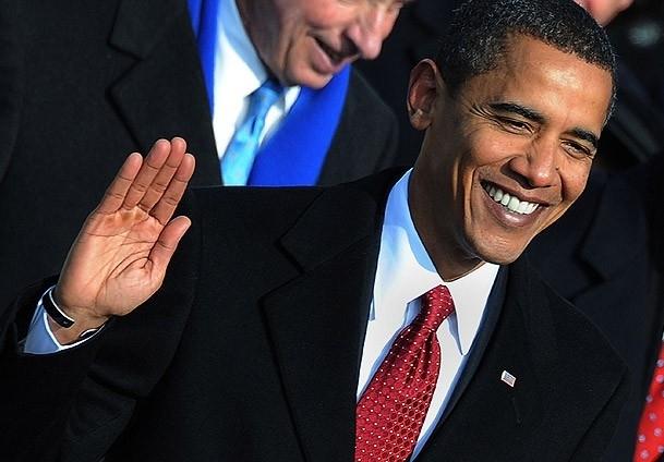 Obama halkın önünde yemin etti