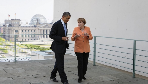 Obama Merkel'e garanti verdi