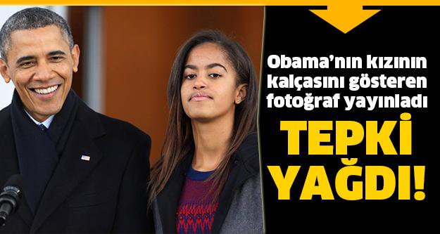 Obama'nın kızının olay görüntüsü!