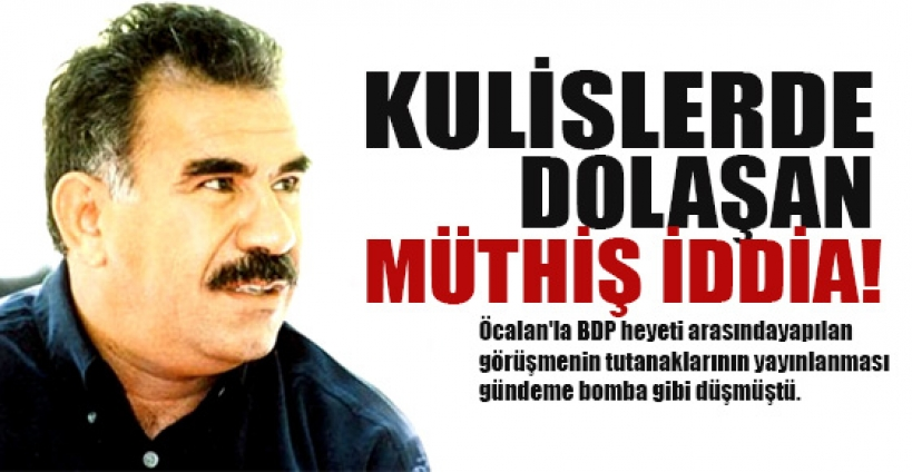 Öcalan video ile çağrı yapacak iddiası!