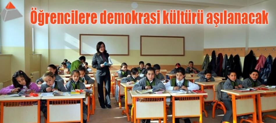Öğrencilere demokrasi kültürü aşılanacak