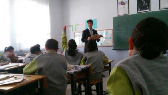 Öğretmene sopa soruşturması