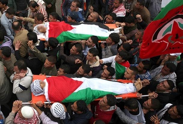 Ölen Filistinlilerin yarısından fazlası sivil