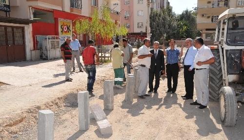 Osmaniye'de cadde ve yollar genişletiliyor