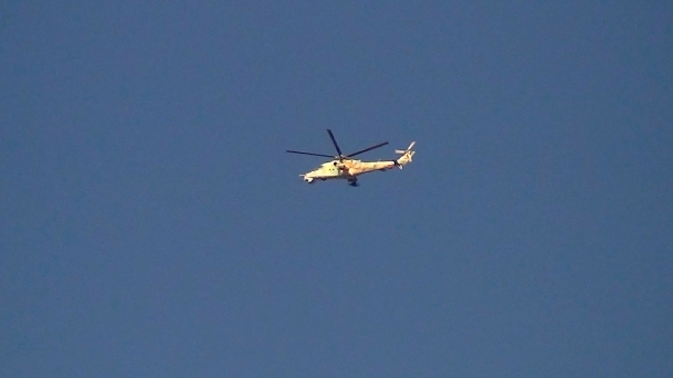 ÖSO, Halep'te askeri helikopter düşürdü