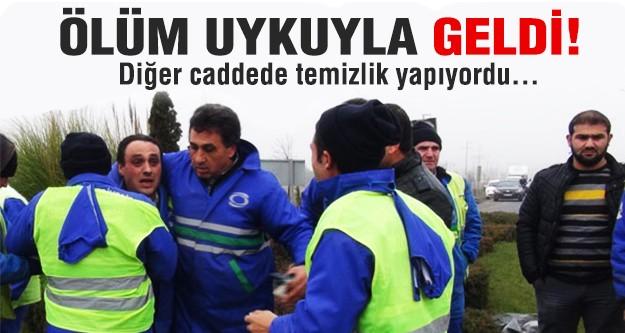 Otomobil, yol kenarındaki temizlik işçilerine çarptı: 2 ölü